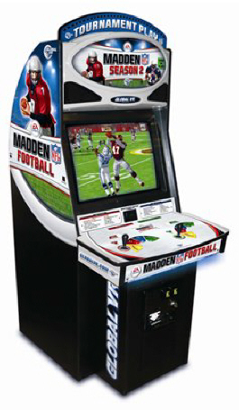Madden Season 2  NFL Football Video Arcade Game | 4 Player Model From Global VR