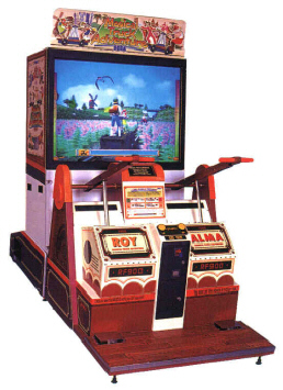 Magical Truck Adventure Video Arcade Game By Sega