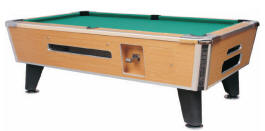 Medalist Spectrum Sterling Pool Table | Commercial Coin-Op / DBA Bar Style Billiards Pool Table By Medalist Marketing | Coin Operated Model