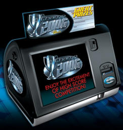 Megatouch Champ Countertop Video Game From BMI Gaming By Merit Industries | Worldwide Video Game Delivery: 1-800-746-2255