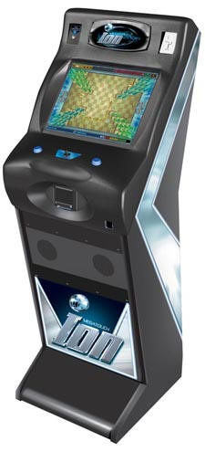 Megatouch Gametime EVO Upright Touchscreen Video Game From Merit Industries By BMI Gaming