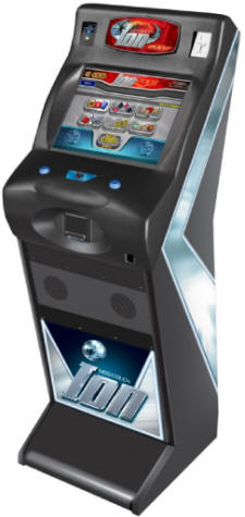 Megatouch Fusion ION Upright Touchscreen Video Game From Merit Industries By BMI Gaming