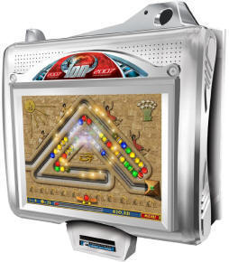 "Megatouch EVO ION Wallette 15"" Wall Mount Touchscreen Video Game From Merit Industries By BMI Gaming"
