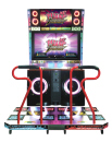 "Pump It Up Infinity 2013 TX - 50"" Cabinet Dance Music Arcade Game"