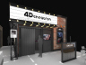 4D Theatron Motion Simulator Theater Attraction - Exterior View | Simuline