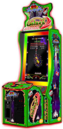 Galaga Assault Ticket Videmption Arcade Game