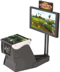 Golden Tee LIVE 2017 Online Showpiece Pedestal Cabinet Model