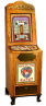 Love Tester / Love Meter Oak Vending Machine From Impulse Industries