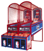 NBA Hoops Basketball Arcade Machine Coin Operated From ICE