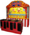The Sideshow 1889 3 Player Classic Midway Shooting Gallery Game From Pan Amusements and Sega