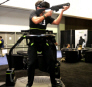 Omni Arena VR Arcade Gaming System - Player Shooting- From UNIS