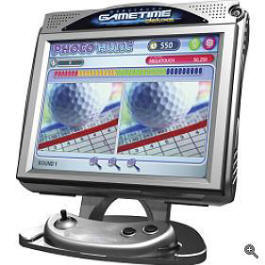 Megatouch Gametime / Game Time Deluxe Touchscreen Countertop Video Game Video Game From Merit Megatouch / AMI
