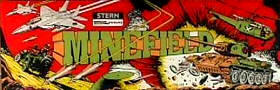 Minefield Video Game - Stern 1983