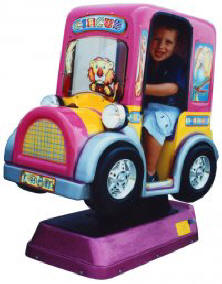 Mini Circus Car Kiddie Ride - 18381  |  From Falgas Amusement Rides