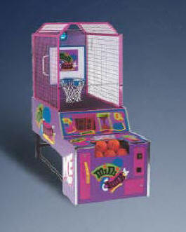 Mini Dunxx Kids Commercial Basketball Arcade Game Machine From ICE / Innovative Concepts In Entertainment