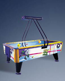 Mini Slap Shot Air Hockey Table By ICE - From BMI Gaming - 1-800-746-2255