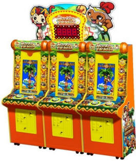 Monkey Paradise Ticket Redemption Video Arcade Game From Sega Amusements