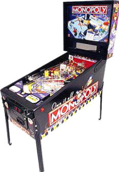 MONOPOLY Pinball Machine By Stern | From BMI Gaming: 1-800-746-2255