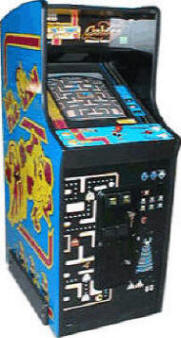 Ms Pac Man / Galaga / Pac Man Caberet Model Classic Video Arcade Game From BMI Gaming!