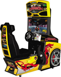 Need For Speed Carbon Standard Model Video Arcade Game From Global VR