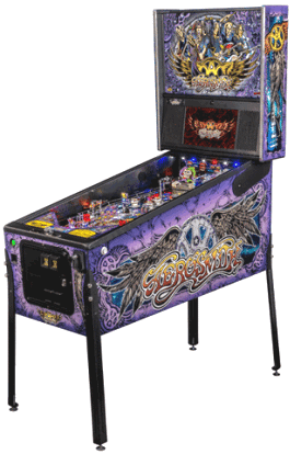 Aerosmith Premium Pinball Machine From Stern Pinball