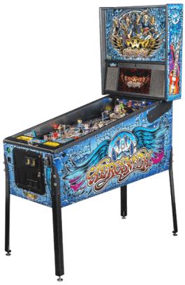 Aerosmith Pro / Professional Model Pinball Machine From Stern Pinball