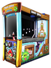 Angry Birds Arcade Ticket Redemption Video Game From ICE Games