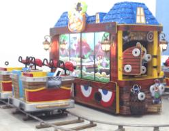 Bandit Express Arcade Interactive Ticket Redemption Kiddie Train Ride From UNIS Games