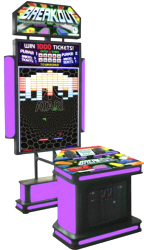 Atari Breakout Ticket Redemption Video Arcade Game From Coastal Amusements