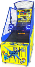 Buzzer Bee-Ter Basketball Arcade Machine - Benchmark Games