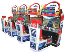 Daytona Championship USA 3 Racing Arcade Game From SEGA Amusements