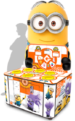 Despicable Me Minion Wacker Ticket Redemption Hammer Arcade Game From Adrenaline Amusements