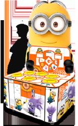 Despicable Me Minion Wacker Ticket Redemption Hammer Arcade Game From Adrenaline Amusements