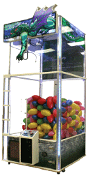 Dragon's Claw Giant Crane Redemption Game From Benchmark Games