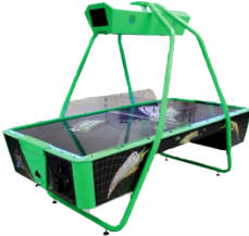 ynamo Black Hole Air Hockey Table From Valley Dynamo