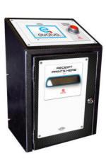 Evolve E-Ticket / Printed Ticket Redemption Dispenser System From Baytek