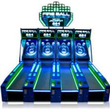 Fireball Fusion Alley Roller Arcade Game Baytek