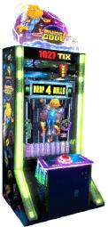 Launch Code Arcade Ball Drop Ticket Videmption Game From Team Play