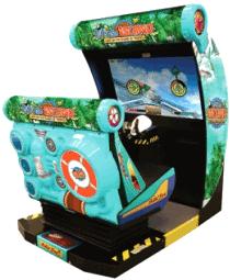 Let's Go Island : Dream Edition Motion Simulator Video Arcade Game From SEGA