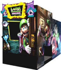 Luigi's Mansion Theater Video Arcade Game