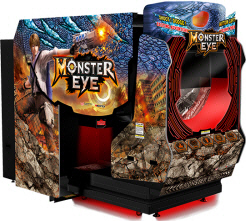 Monster Eye 5D Video Arcade Game From Wahlap