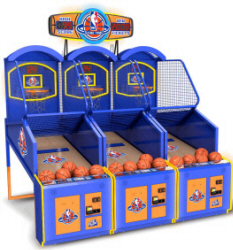 NBA Game Time Basketball Arcade Machine Game From ICE Games