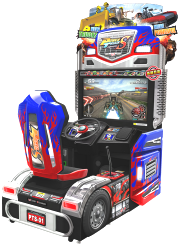 Power Truck Special / S Video Arcade Truck Racing Game \ Wahlap