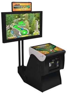 Power Putt Home Edition Mini Golfing Video Arcade Game
