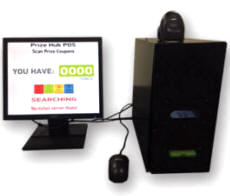 Prize Hub Point Of Sale / POS Add-On System From Baytek