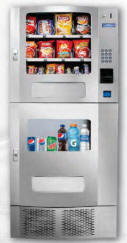 Seaga Snak Mart OD24 Refrigerated Cold Drink and Snack Vending Machine From Seaga Manufacturing