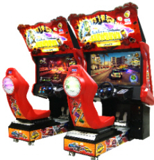 Showdown Video Arcade Game Twin Model - SEGA