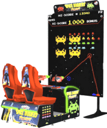 Space Invaders Frenzy Video Arcade Game - With Ticket Redemption From Raw Thrills