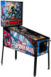 Spiderman / Spider Man Vault Edition Pinball Machine From Stern and Marvel Comics