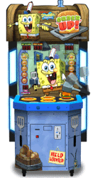 SpongeBob Order Up Arcade Hammer Ticket Redemption Game From Andamiro